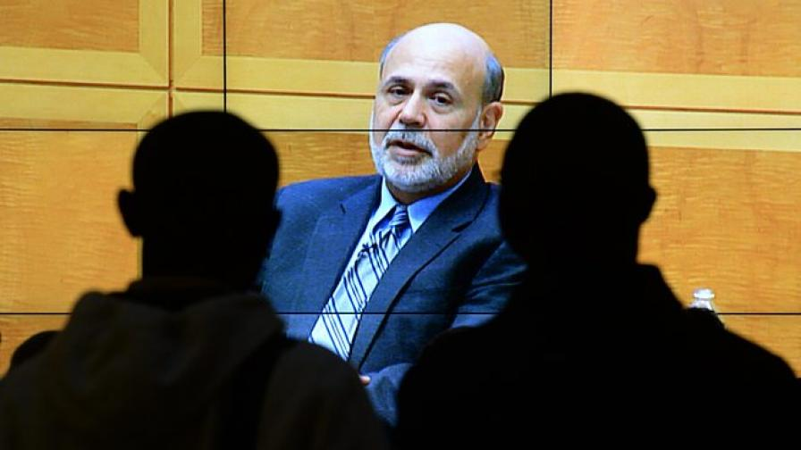 Бен Бернанке прогнозира растеж на икономиката на САЩ