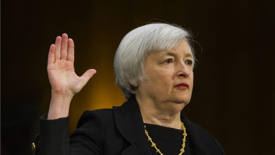Жена поема Управлението за федерален резерв на САЩ