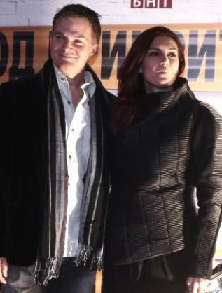 Диана Любенова и съпругът й Лес Уелдън