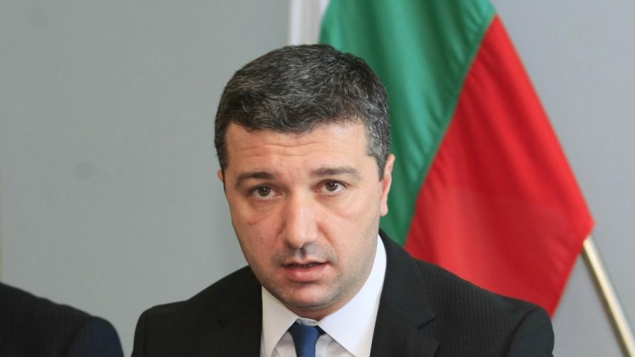Министърът на икономиката и енергетиката Драгомир Стойнев