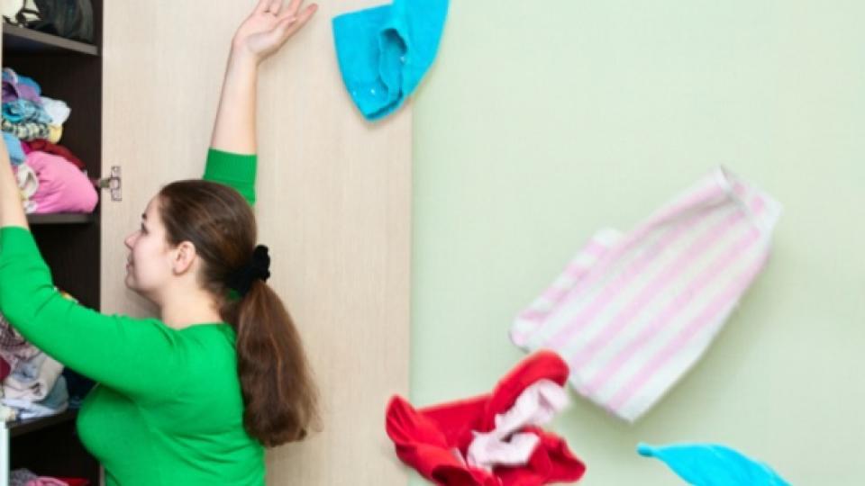В гардероба ми цари пълен хаос