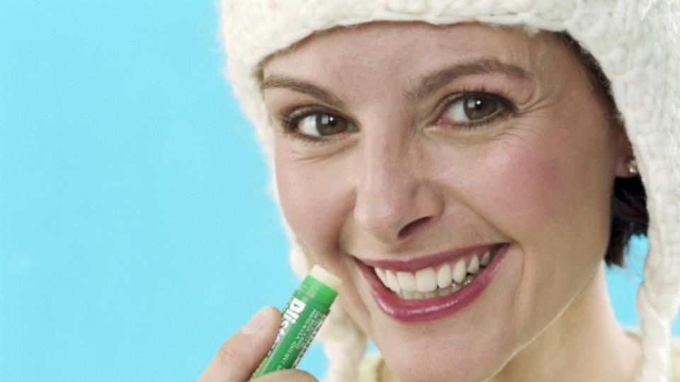 Грижете се за устните си през зимата