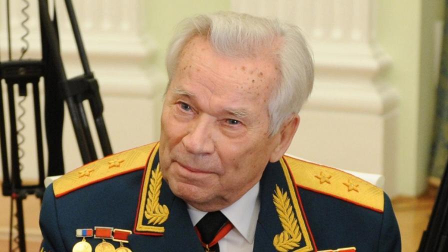Калашников имал угризения на съвестта, преди да почине