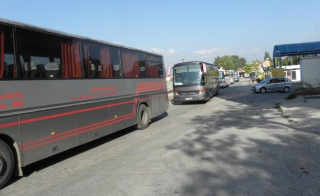 Автобусни превозвачи на национален протест от 1 февруари