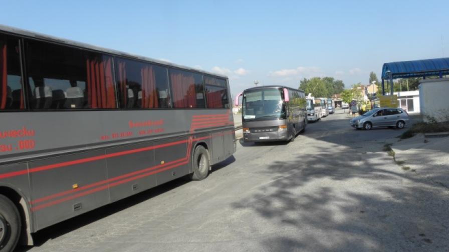 1500 автобуса на протест